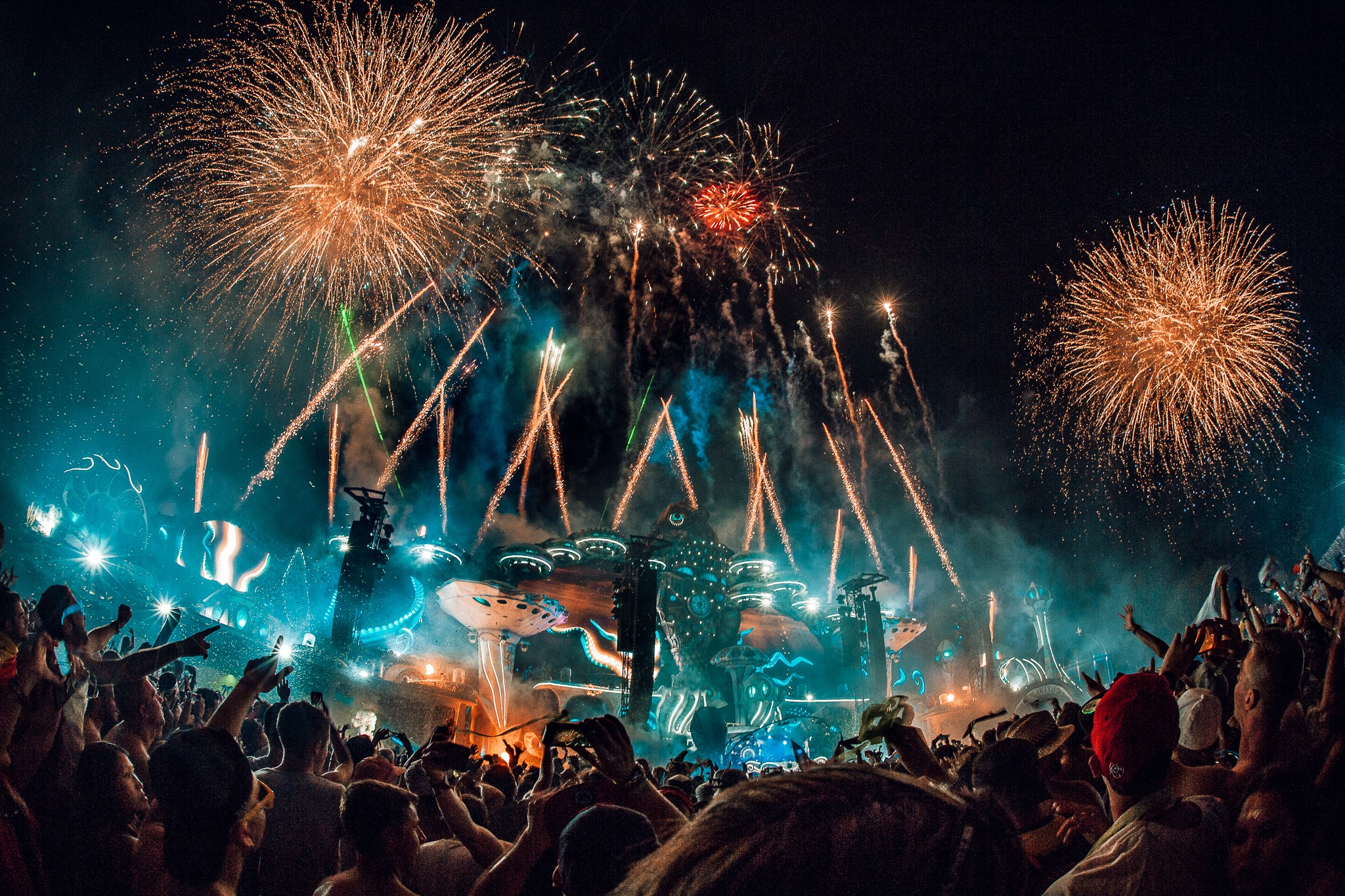 Tomorrowland Mainstage 2018